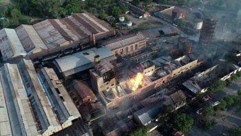 Había 140 trabajadores al momento de la explosión