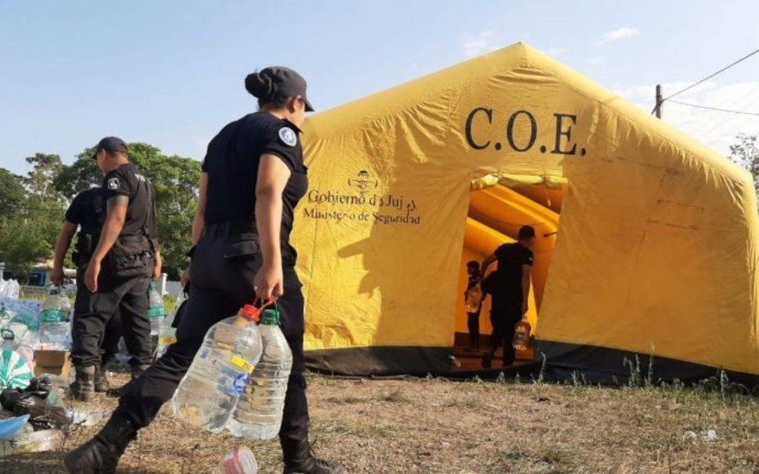 La Esperanza: El gobierno descarta la necesidad de donaciones