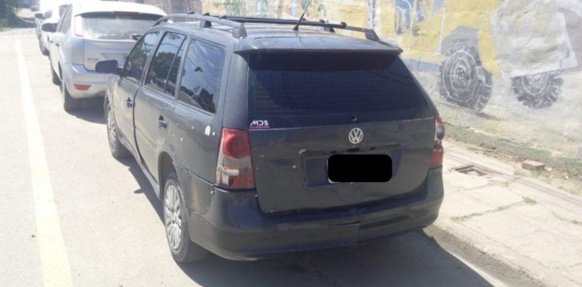 En Alto Comedero incautaron un auto que había sido robado hace dos años