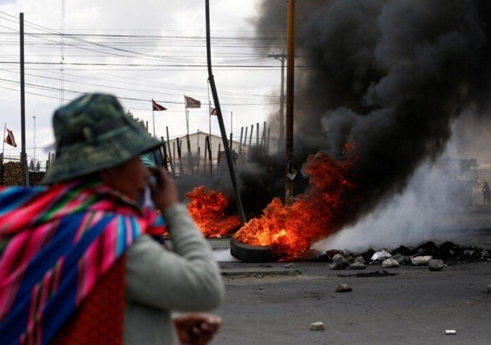 Son 34 los muertos por la violencia en Bolivia