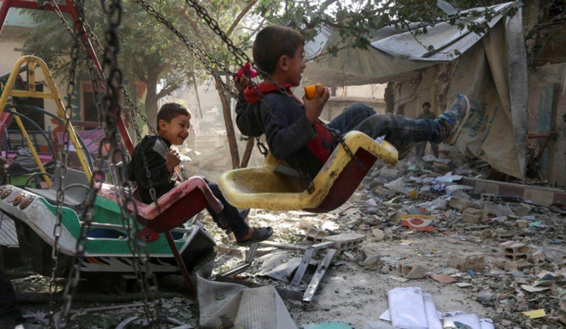 Más de 5 millones de niños sirios necesitan ayuda