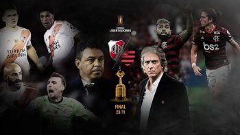 Flamengo, favorito en las apuestas ante River para la final