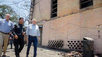Morales anunció beneficios para familiares de los obreros fallecidos en La Esperanza