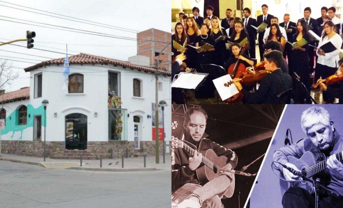 Cierre del mes a pura música en el Héctor Tizón