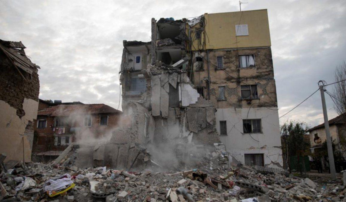 Decenas de muertos por un terremoto en Albania