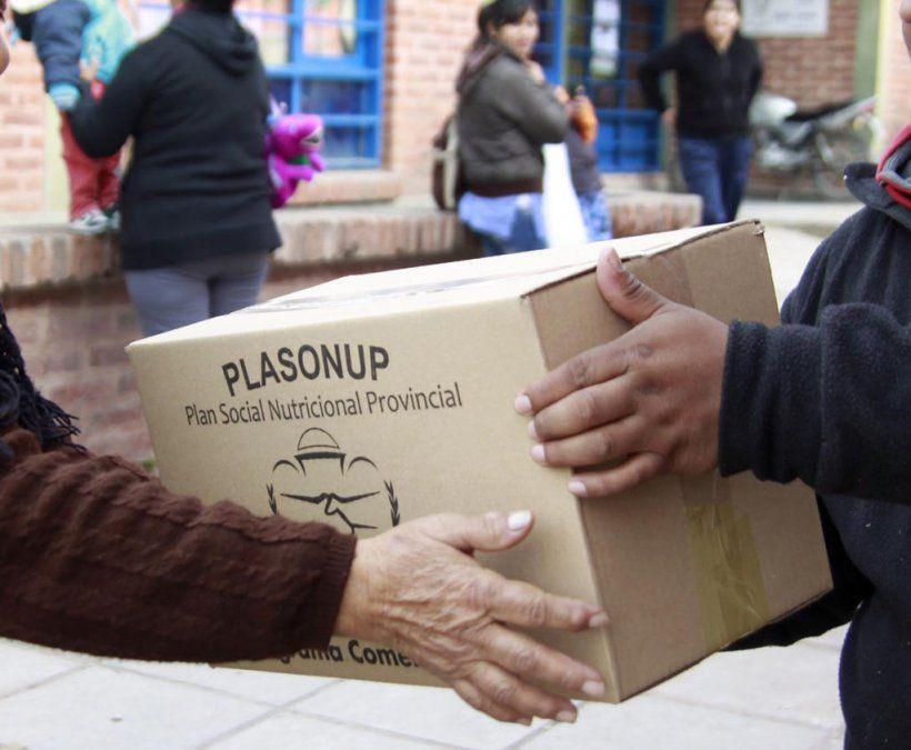 Continúa la entrega de cajas alimentarias en Quebrada y Puna