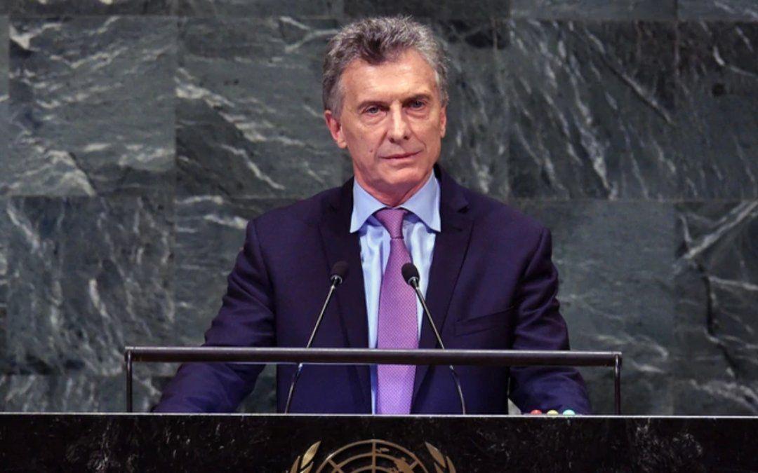Mauricio Macri llegó a Madrid para participar en la cumbre sobre cambio climático
