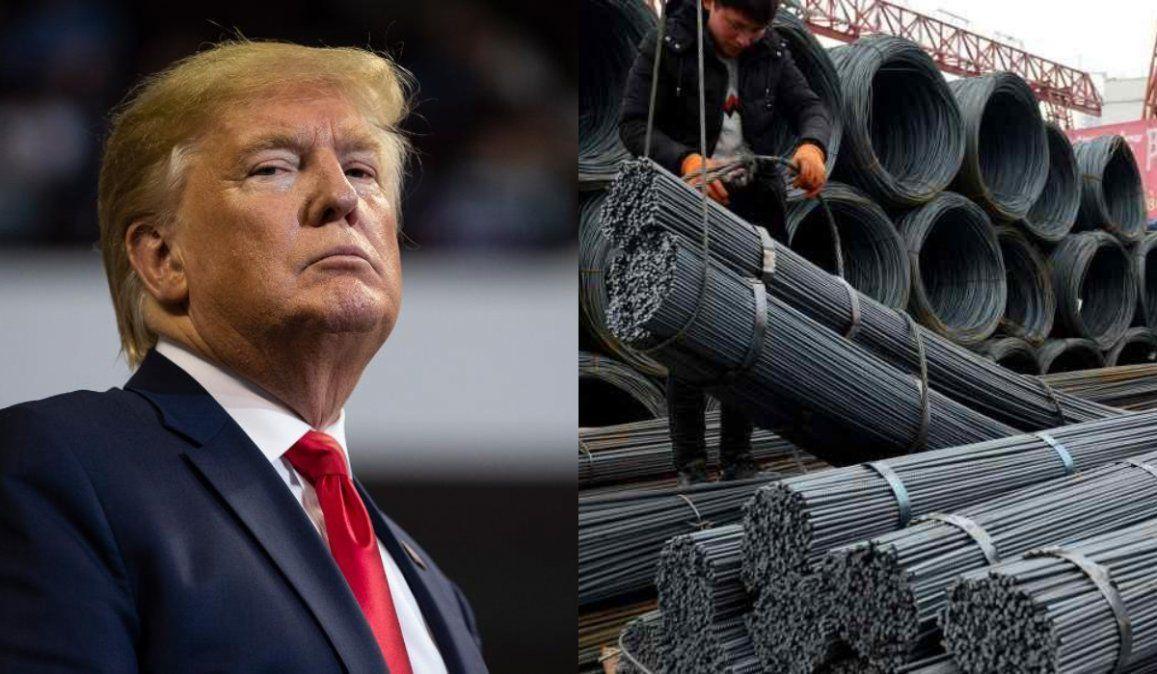 Por decisión de Trump se restablecen las tarifas de acero para la Argentina