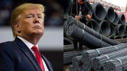 altText(Por decisión de Trump se restablecen las tarifas de acero para la Argentina)}