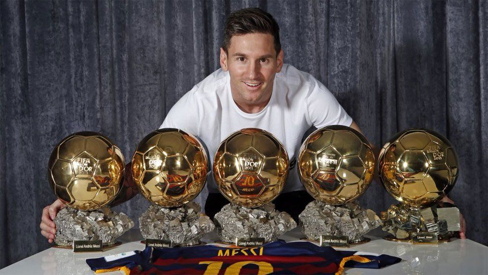 Messi ganó su sexto Balón de Oro