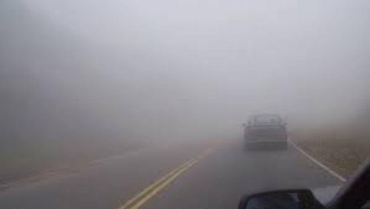Lloviznas y neblina en la región complican la visibilidad