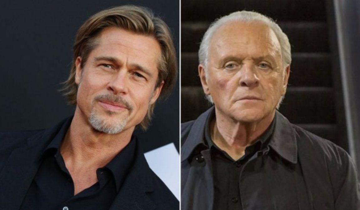 Alcoholismo, confesiones y más: Brad Pitt y una entrevista con Anthony Hopkins