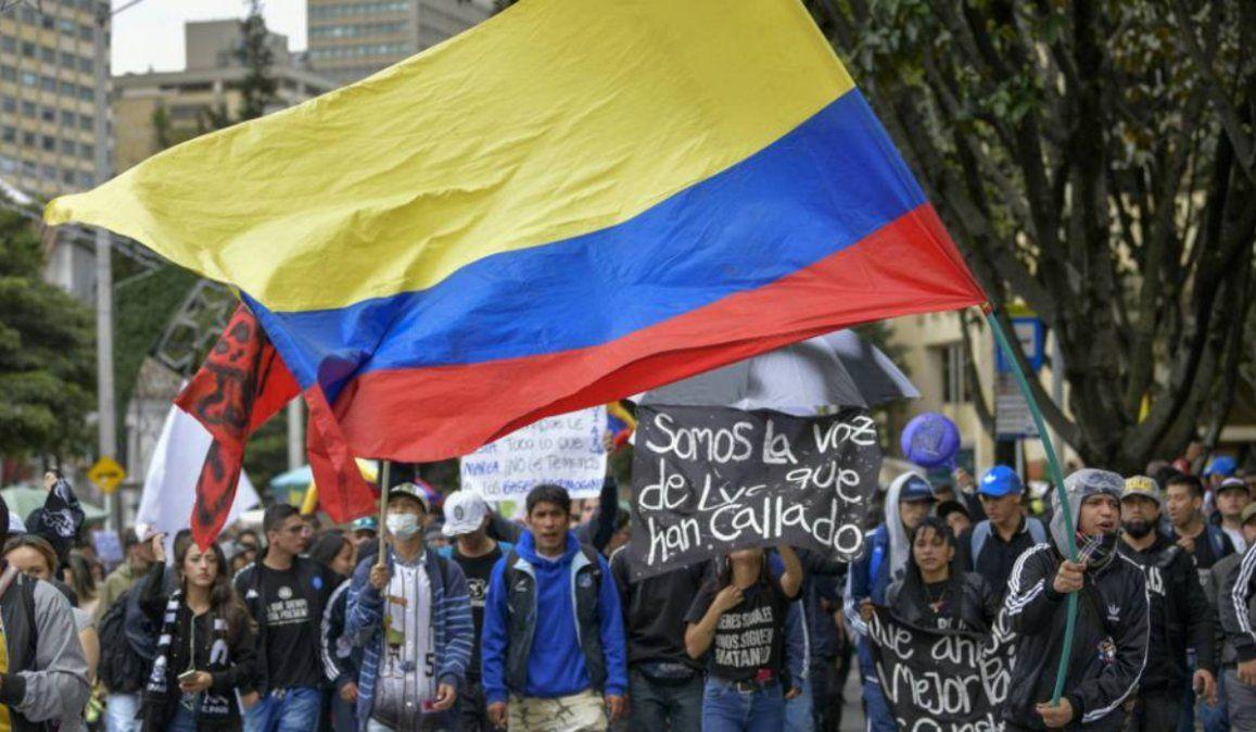 Colombia atraviesa su tercera huelga general en catorce días