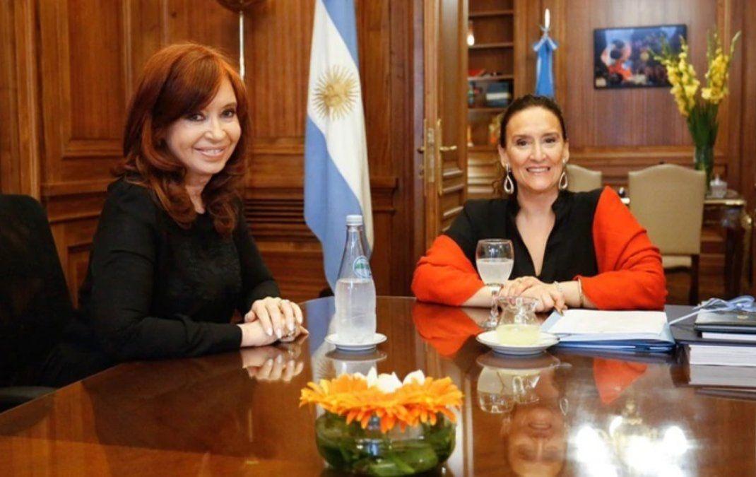 Cristina y Michetti se reunieron en el Senado para acordar el traspaso presidencial
