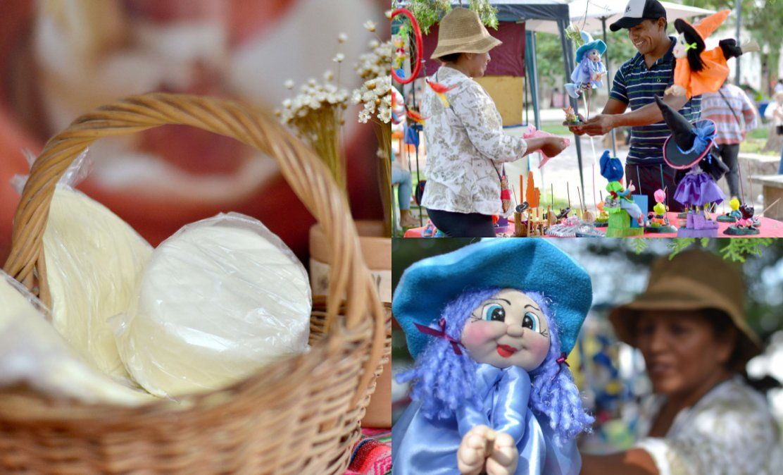 Feria de emprendedores y artesanos en San Antonio