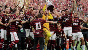 Sanción a Flamengo por el festejo en Lima