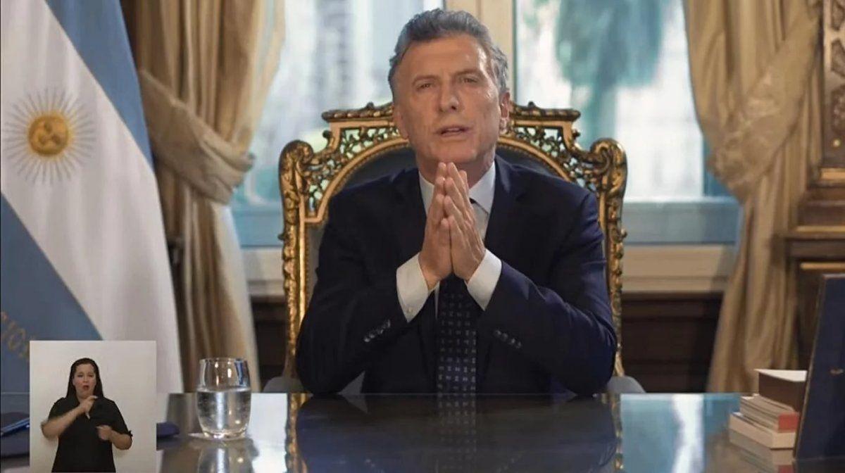 Macri: Dejamos un Estado en el que es más difícil robar la plata de los argentinos
