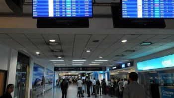 Un paro sorpresivo afecta a los vuelos en Aeroparque y Ezeiza