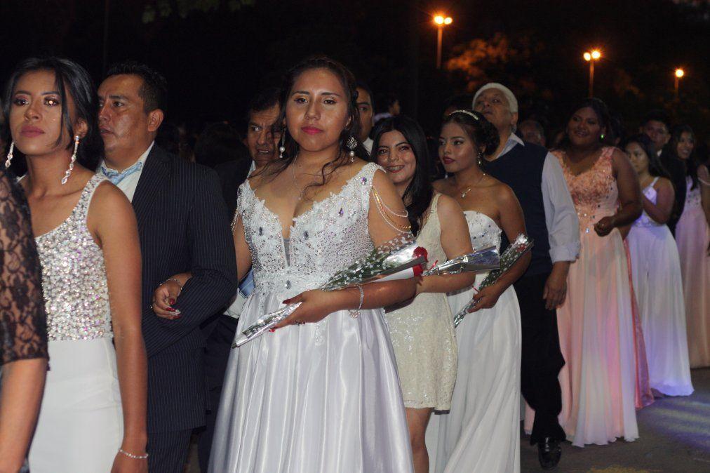 Los estudiantes de Palpalá celebraron su noche