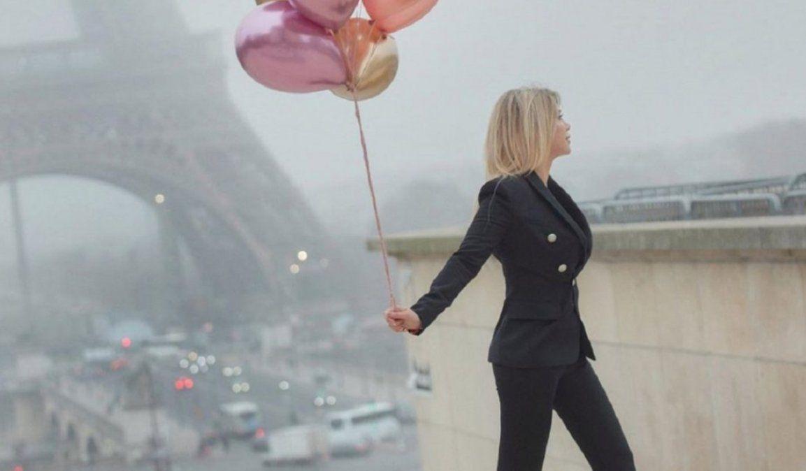 El álbum de Wanda Nara, anticipando su cumpleaños en París