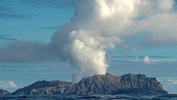 Una erupción volcánica causó la muerte de cinco personas