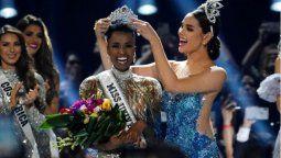 zozibini tunzi de sudafrica se convirtio en la nueva miss universo