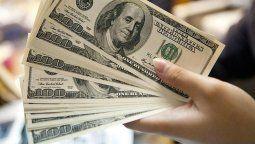 el dolar cerro con un alza de 25 centavos