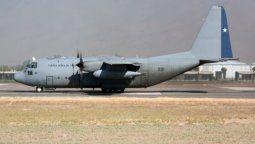 la fuerza area chilena confirmo la desaparicion  de un avion con 38 personas