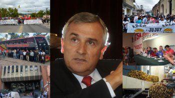 Seis reclamos pendientes de la gestión Morales