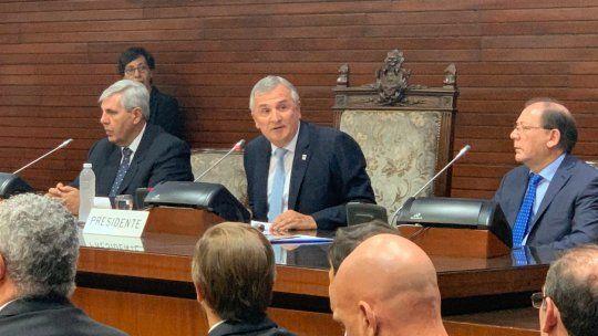 Comparto la agenda de Alberto Fernández, dijo Morales