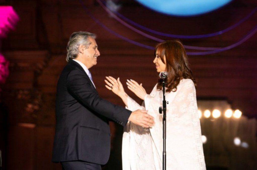 Cristina a Alberto: No se preocupe por los diarios, preocúpese por llegar al corazón de los argentinos