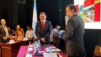 Chuli Jorge asumió su cuarto mandato en San Salvador