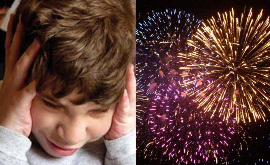 Un niño con autismo puede convulsionar del miedo, el crudo relato pidiendo pirotecnia cero