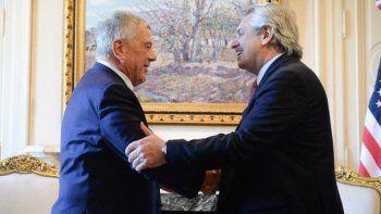 Alberto Fernández se reunió con uno de los enviados de Donald Trump