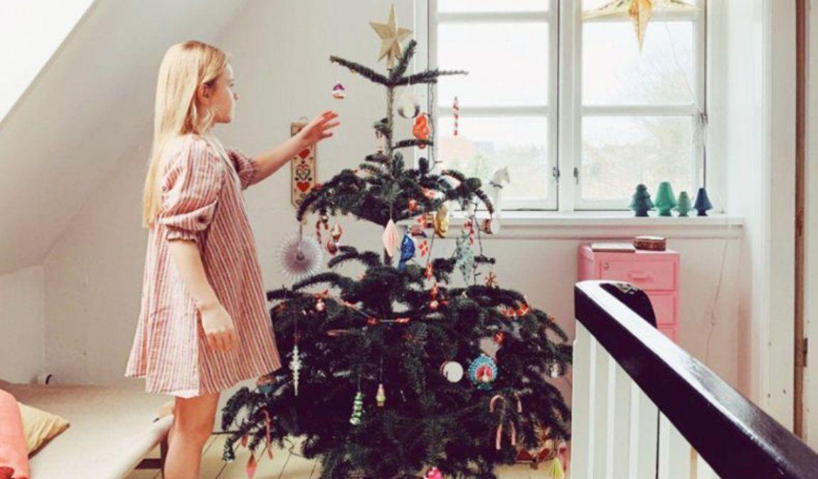 Esta casa llena de rincones navideños tiene toda la inspiración que necesitas