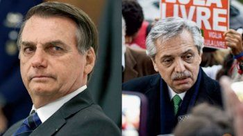 Bolsonaro a Fernández: