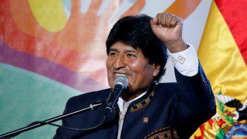 Evo Morales ya llegó a la Argentina