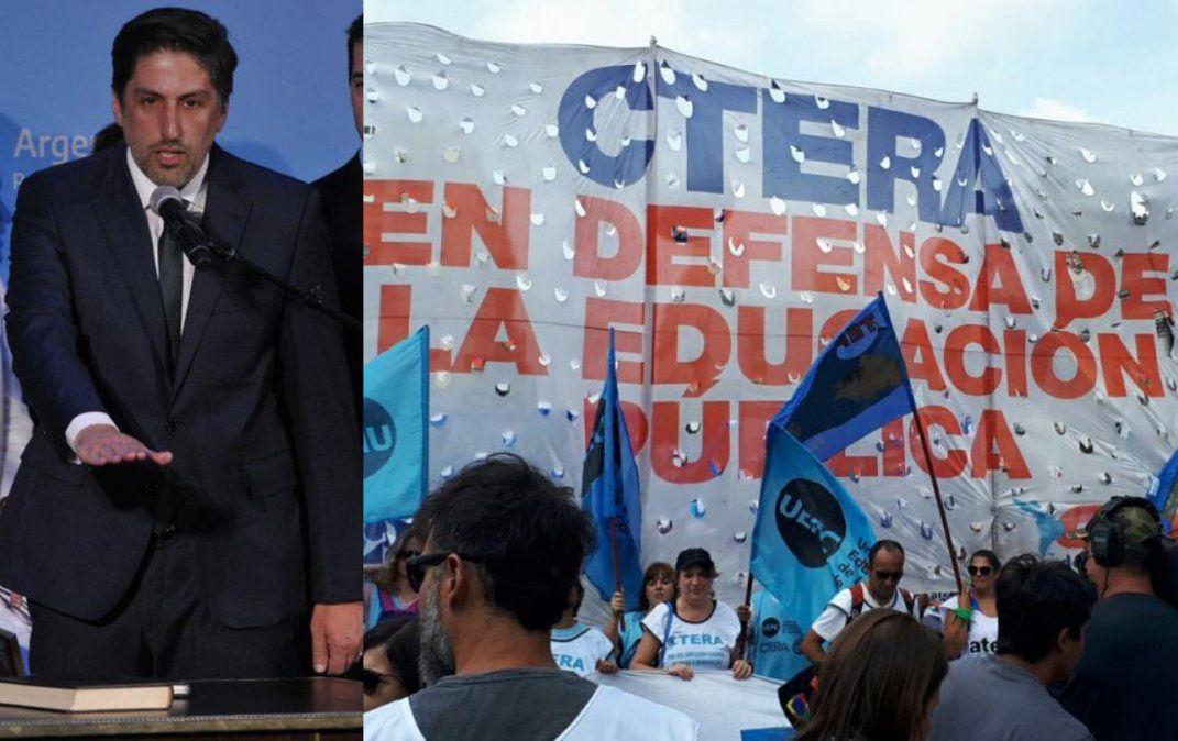 Gremios celebraron la vuelta de la paritaria nacional docente anunciada por el nuevo ministro