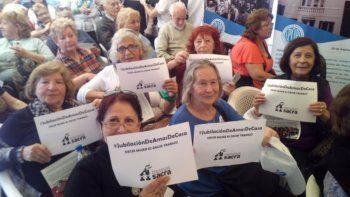 El sindicato de Amas de casa realiza una jornada para informar sobre los beneficios del sector