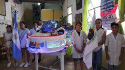 El trabajo de los estudiantes jujeños llegó a una escuela de Buenos Aires