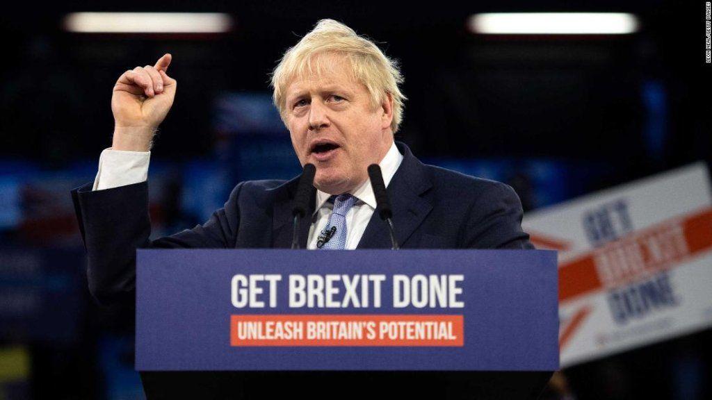 Victoria de Boris  Johnson en las elecciones del Reino Unido