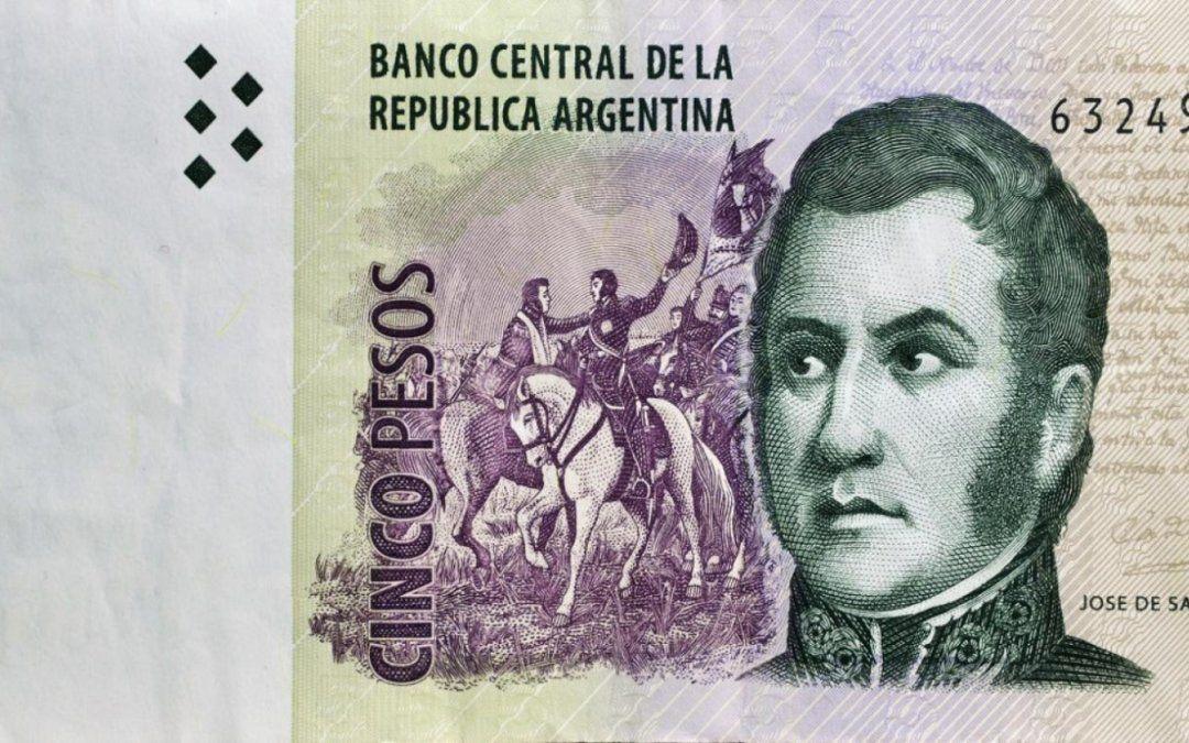 Hasta cuándo se podrán usar los billetes de 5 pesos