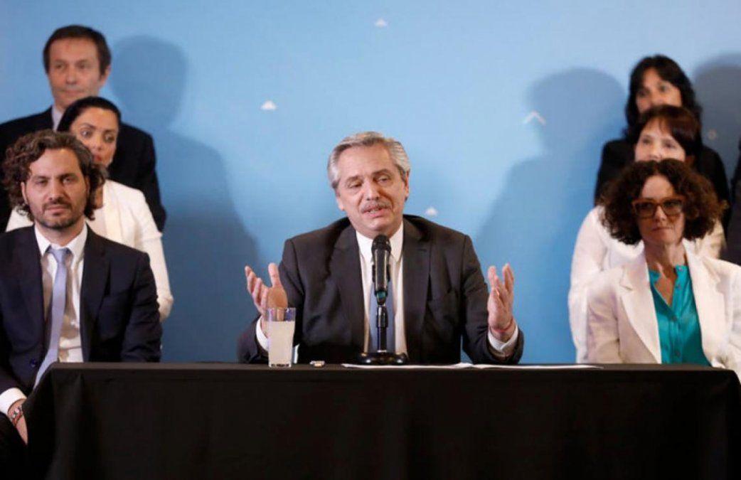 Alberto anunció que los jubilados que cobran la mínima recibirán $5mil de adicional