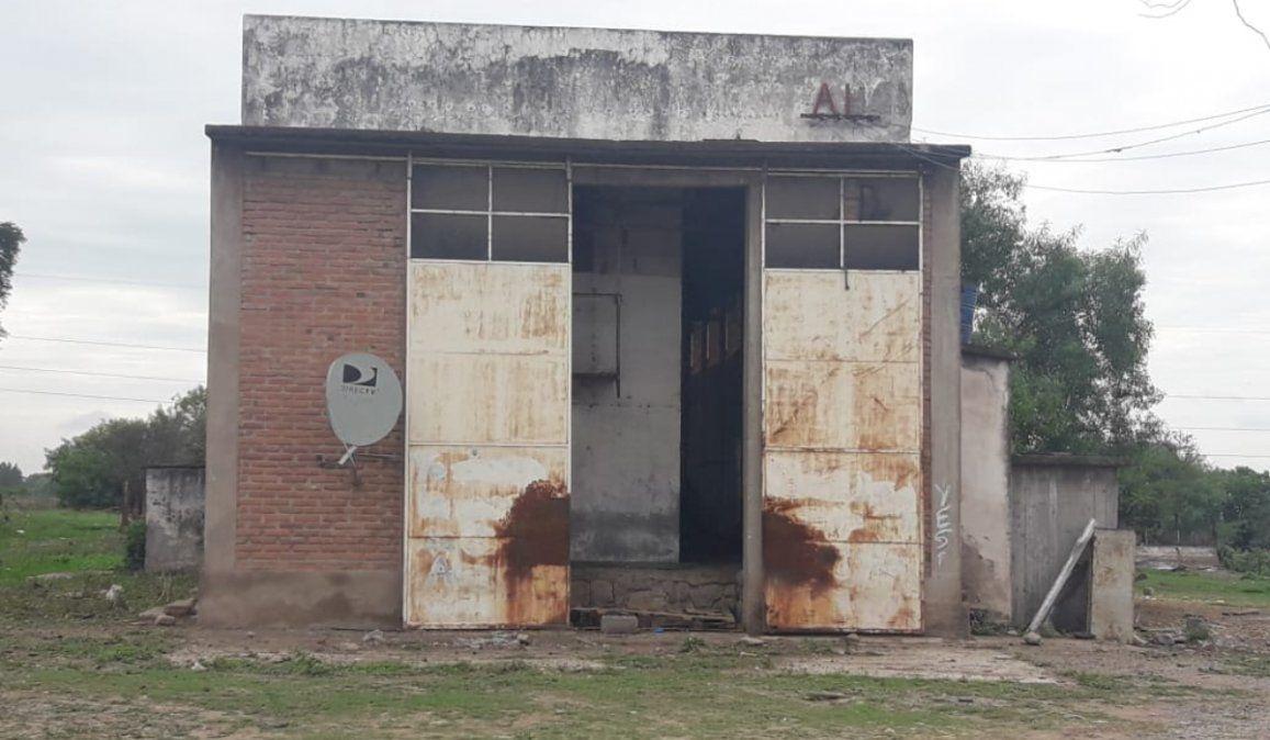 Completo abandono y faenas clandestinas en el matadero municipal