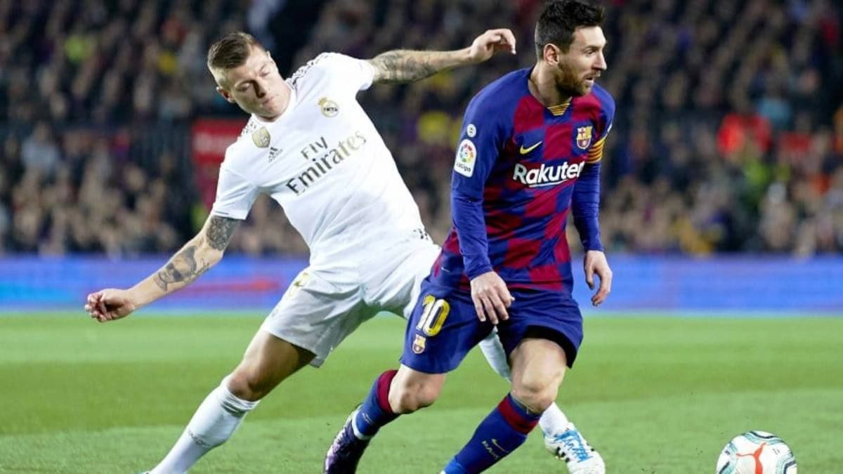 Barcelona y Real Madrid empataron 0 a 0