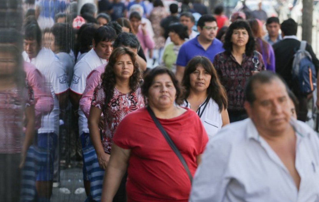 Hay 1.850.000 personas desempleadas en todo el país