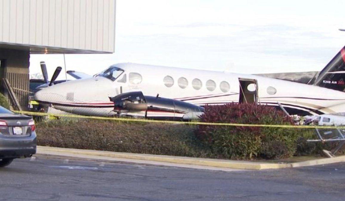 Adolescente norteamericano roba un avión y lo estrella