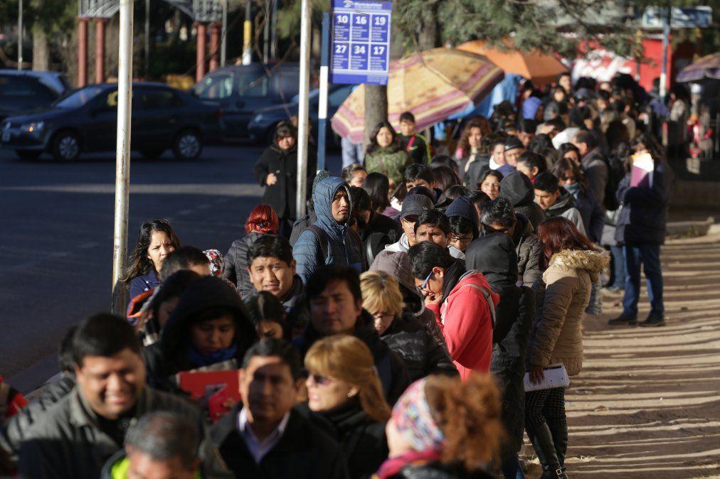 Jujuy-Palpalá registra unos 7.392 desocupados