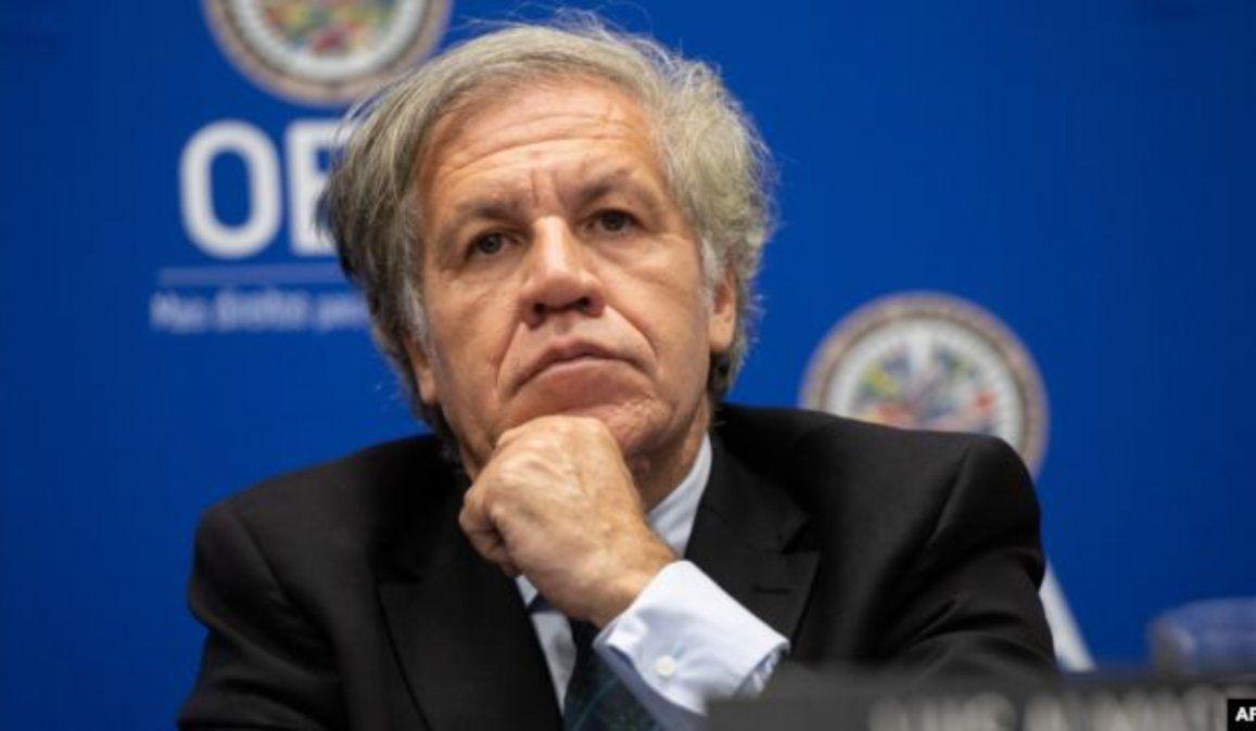 El secretario general de la OEA niega estrategias para desvincular a Maduro