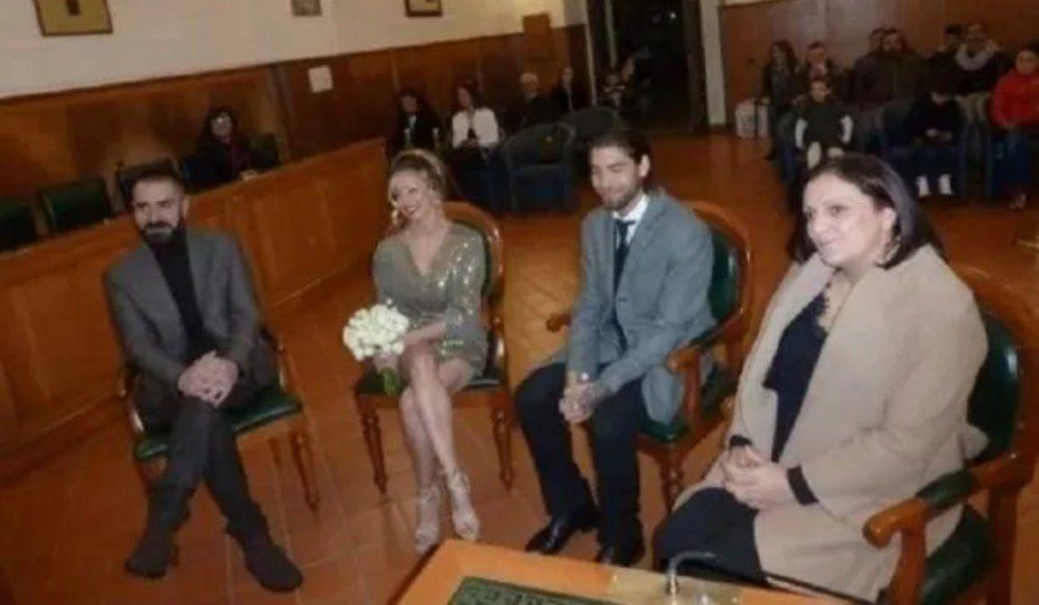 La jujeña Gisela Bernal se casó en secreto en un pueblo de Italia